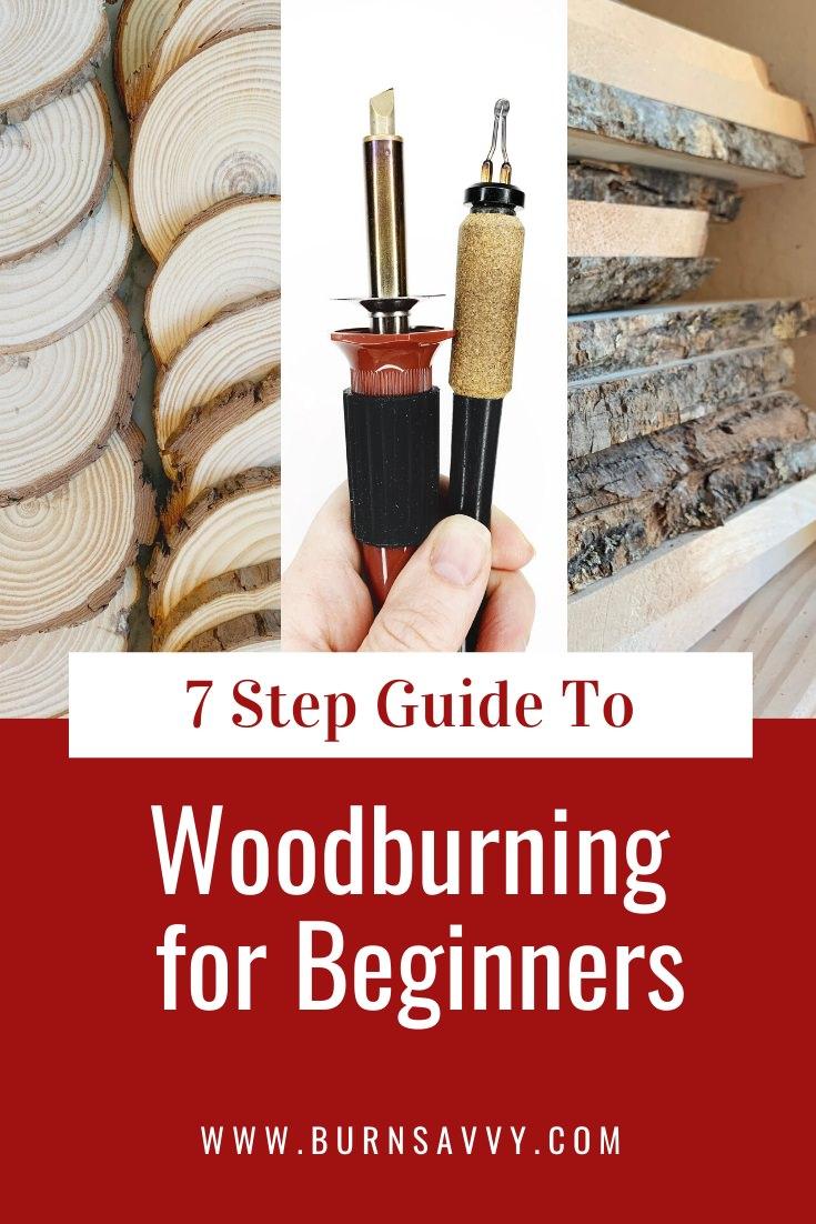 Wood Burning For Beginners | Burn Savvy